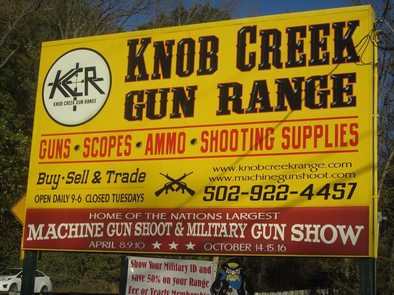 Knob lick gun range kentucky